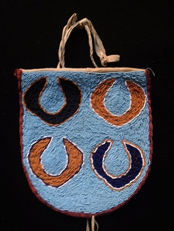 Beaded Bag Columbia River Plateau