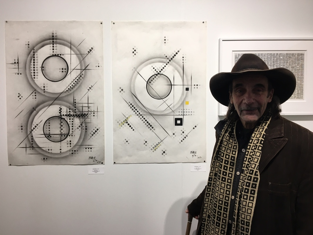 Ben Morea and works at ART ON PAPER 2017