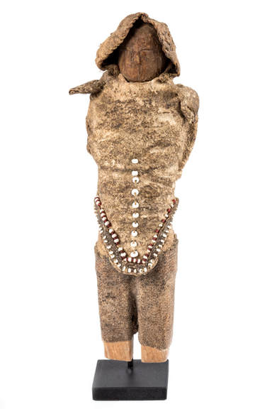 Native Alaskan doll, Gold Rush Era