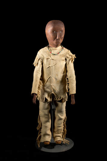 Woodlands doll, 19th C