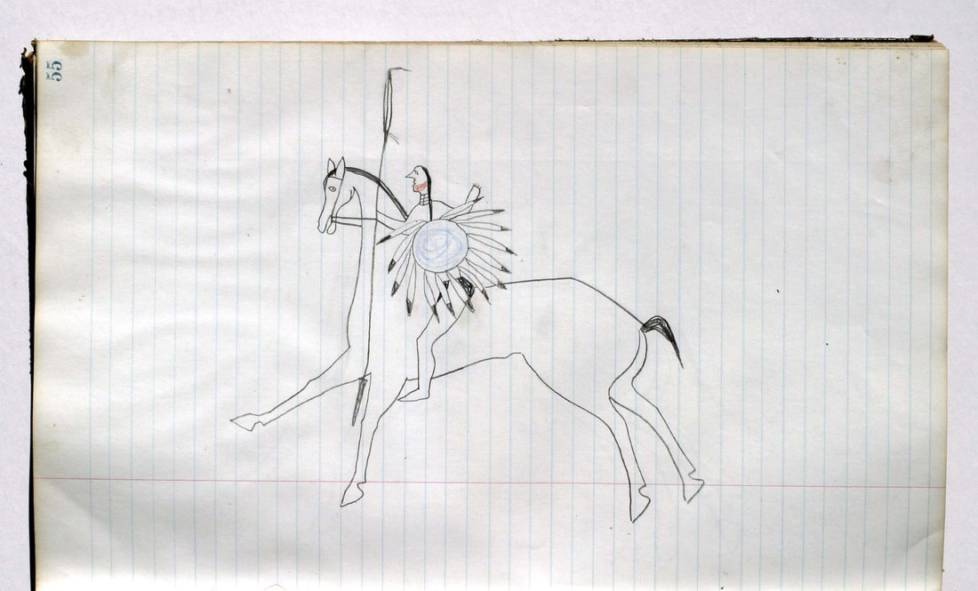 Lakota Ledger Drawing