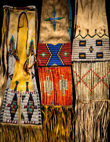 Plains Indian pipe bags