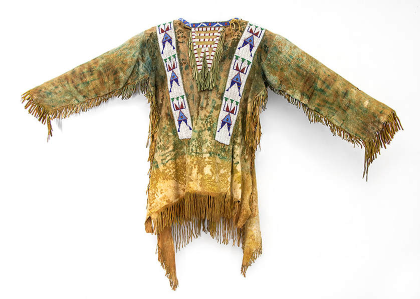 PLAINS BEAUTY: 19th Century American Indian Garments and