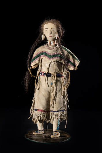 Nez Perce Doll, late 19th Century